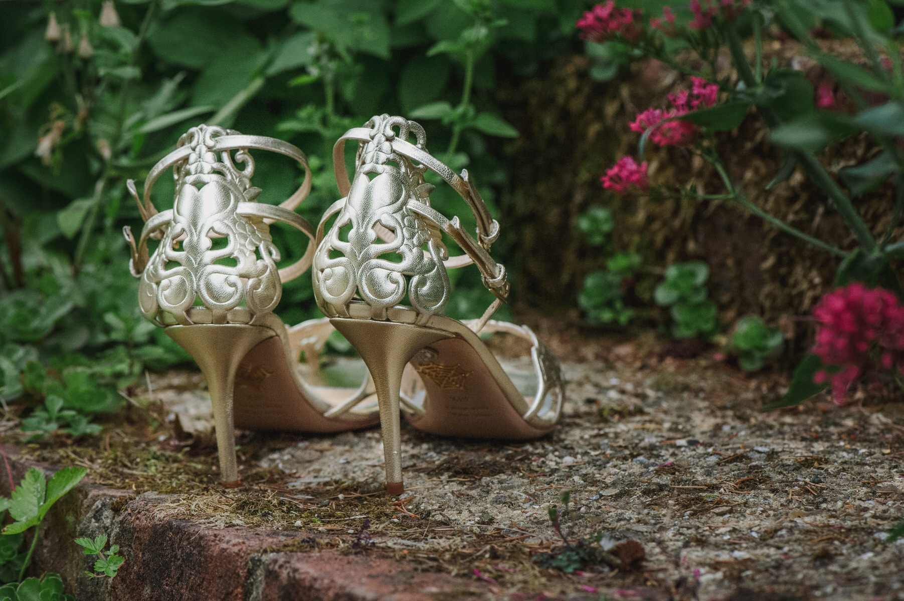 Charlotte Olympia wedding shoes