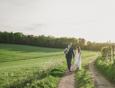 Surrey wedding photographer rustic Herons Farm wedding