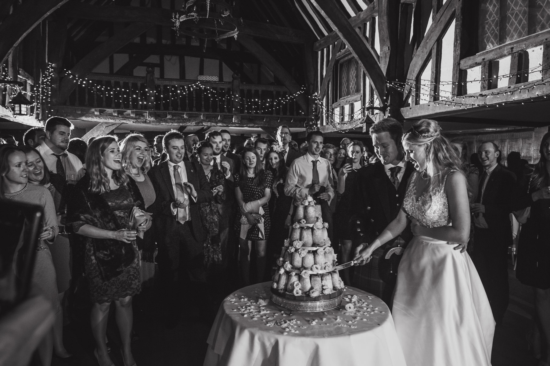 London wedding photographer Great Fosters