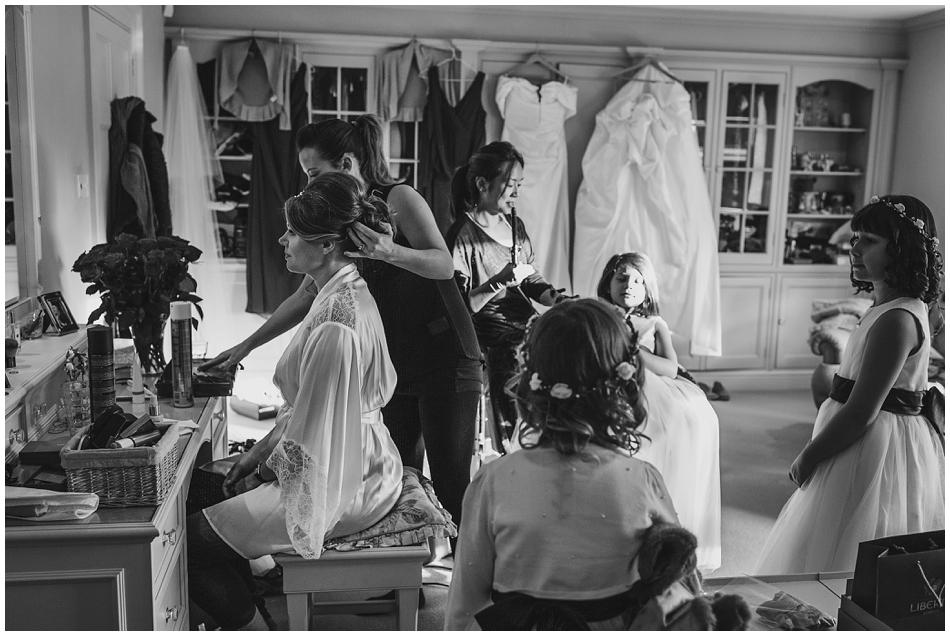 bride winter wedding photographer