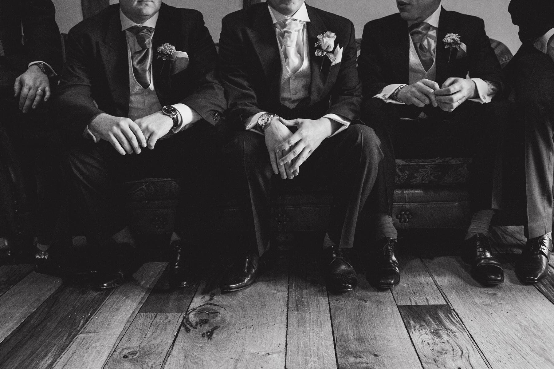 Cain Manor groom's hands