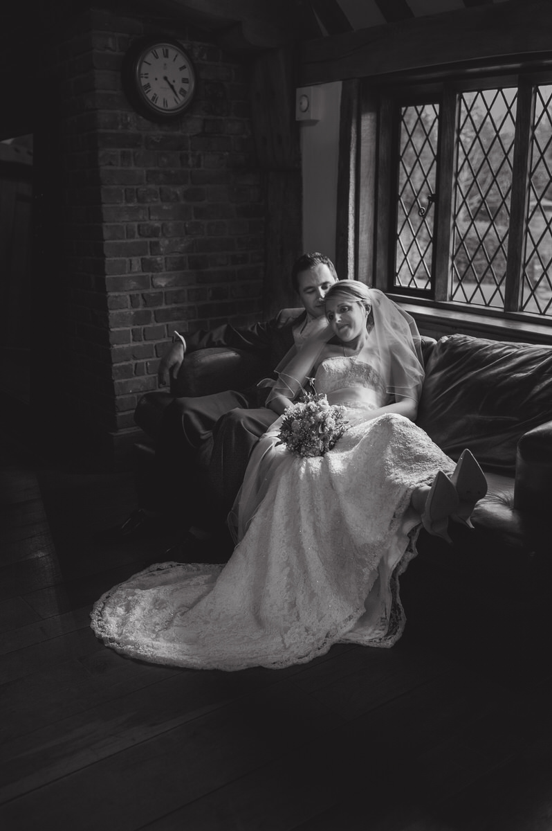Cain Manor wedding couples portraits indoors