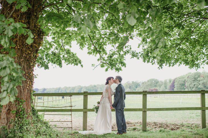 couples photos at Herons Farm wedding