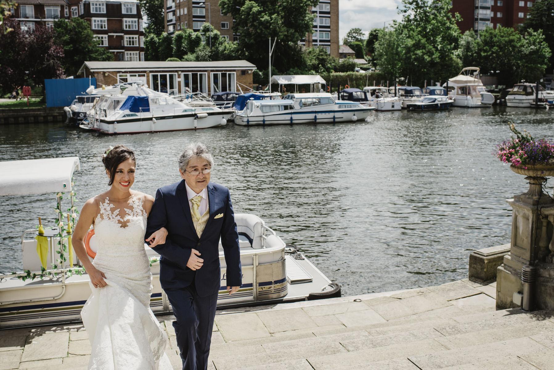 Ravens Ait wedding bride