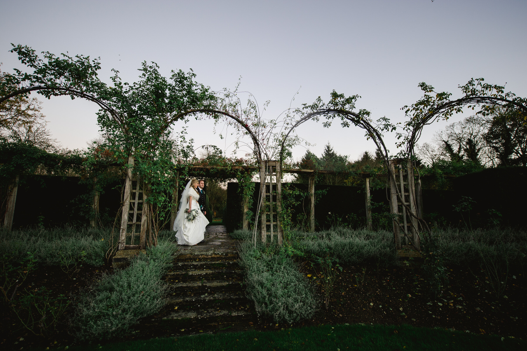Great Fosters wedding gardens