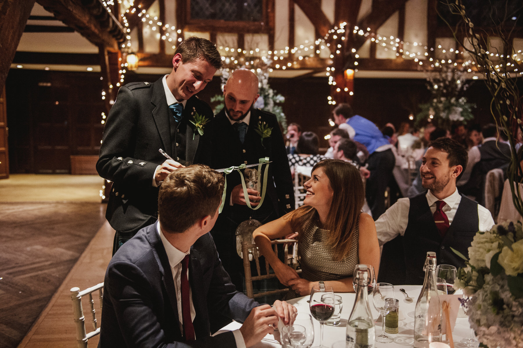 Great Fosters wedding speeches