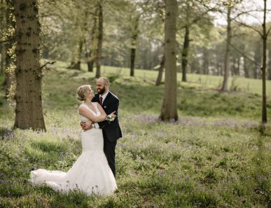 Herons Farm Barn wedding bride and groom
