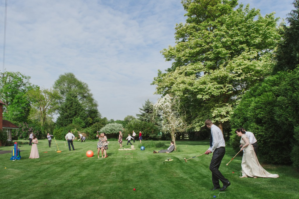 OUTDOOR GAMES AT WEDDINGS