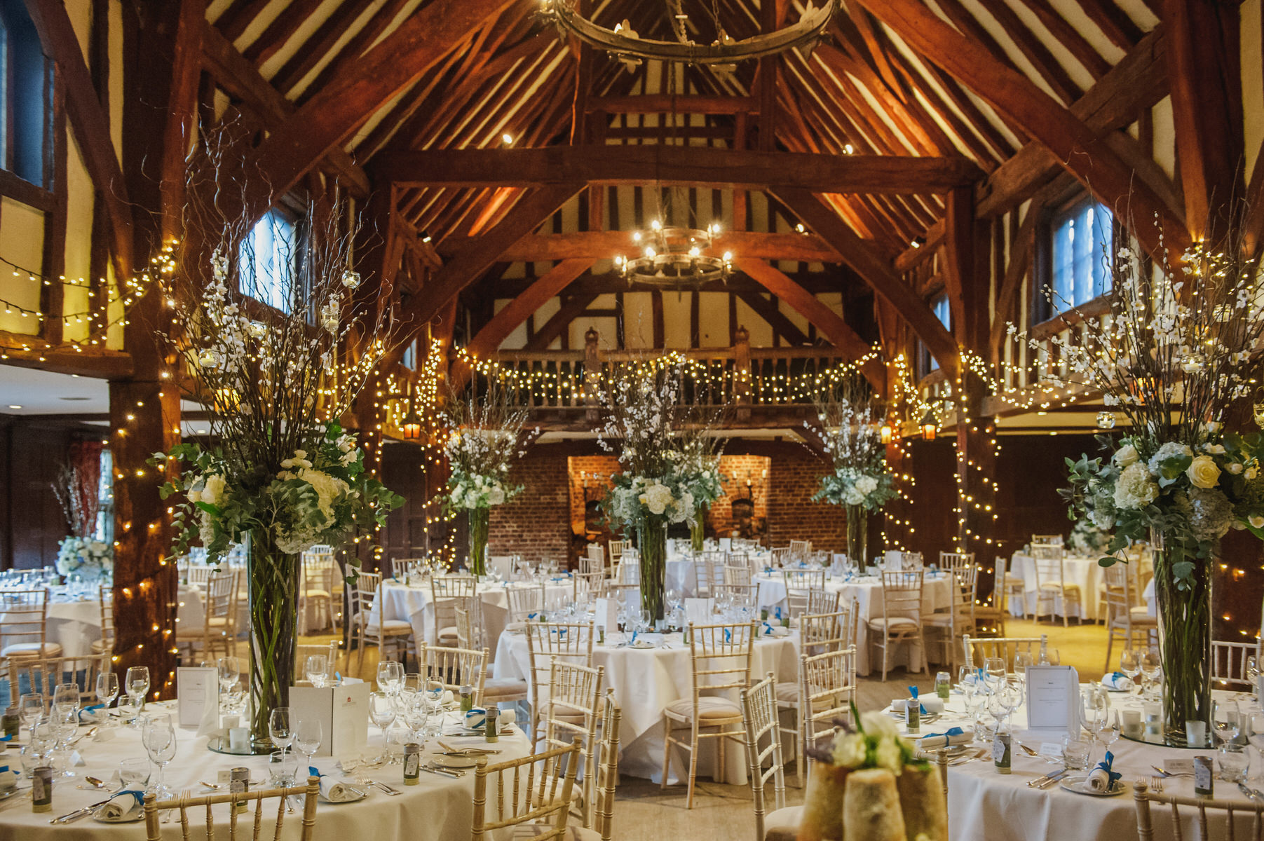 Great Fosters winter wedding
