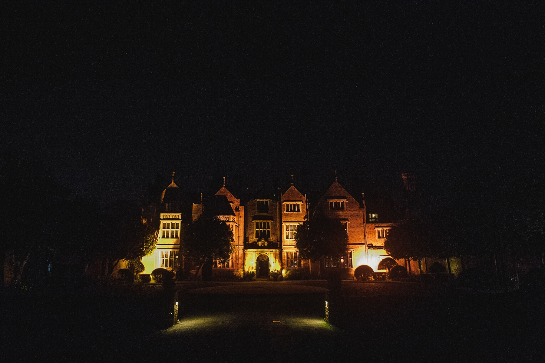 Great Fosters at night