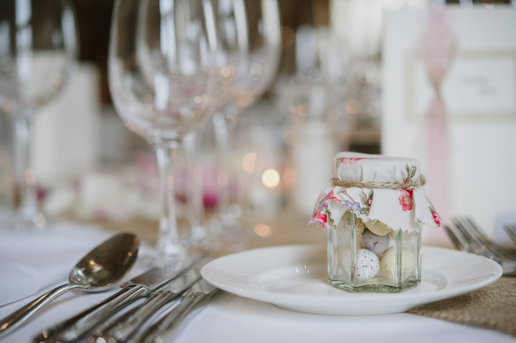 Cain Manor wedding favours for Easter