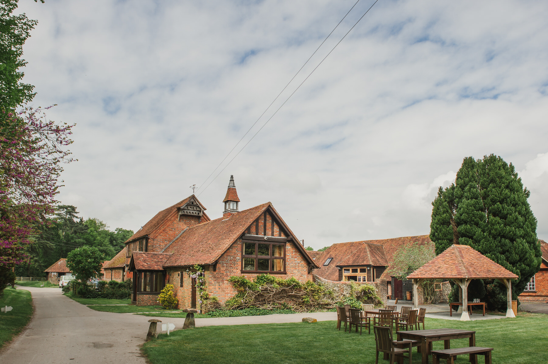 Herons Farm wedding buildings