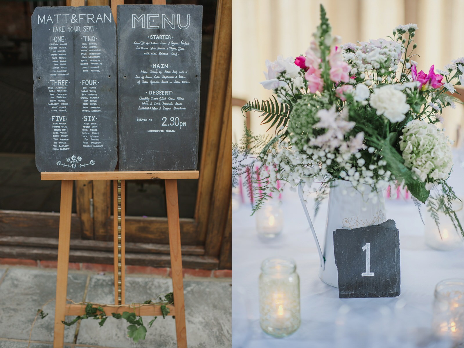 table plan ideas Herons Farm wedding
