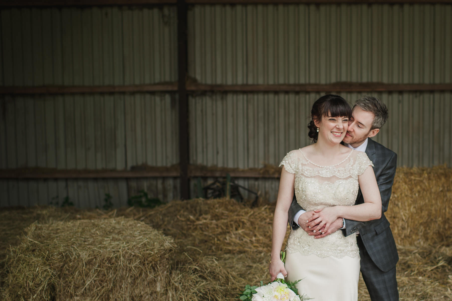 the hay barn Herons Farm wedding