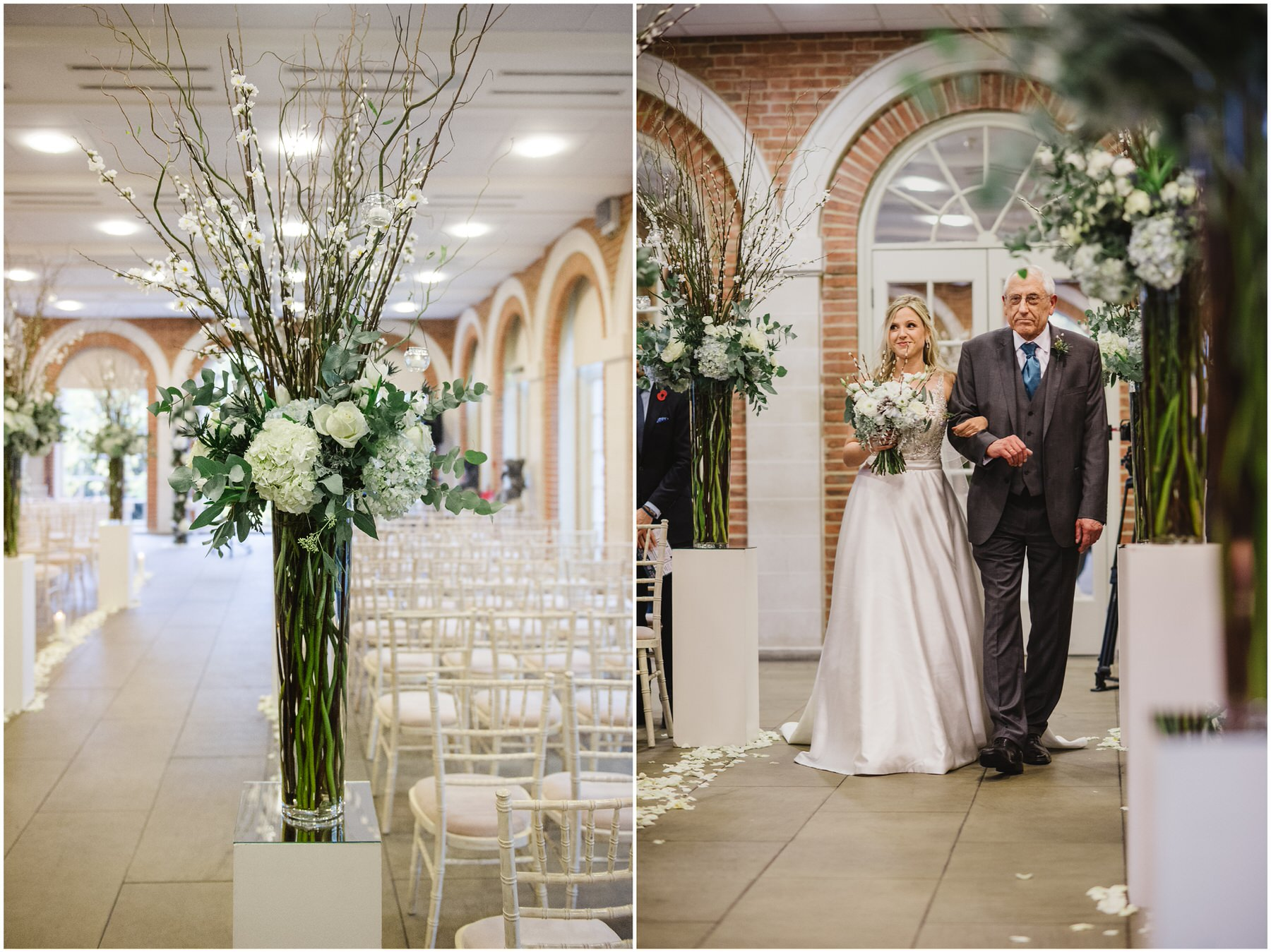 Great Fosters wedding flowers