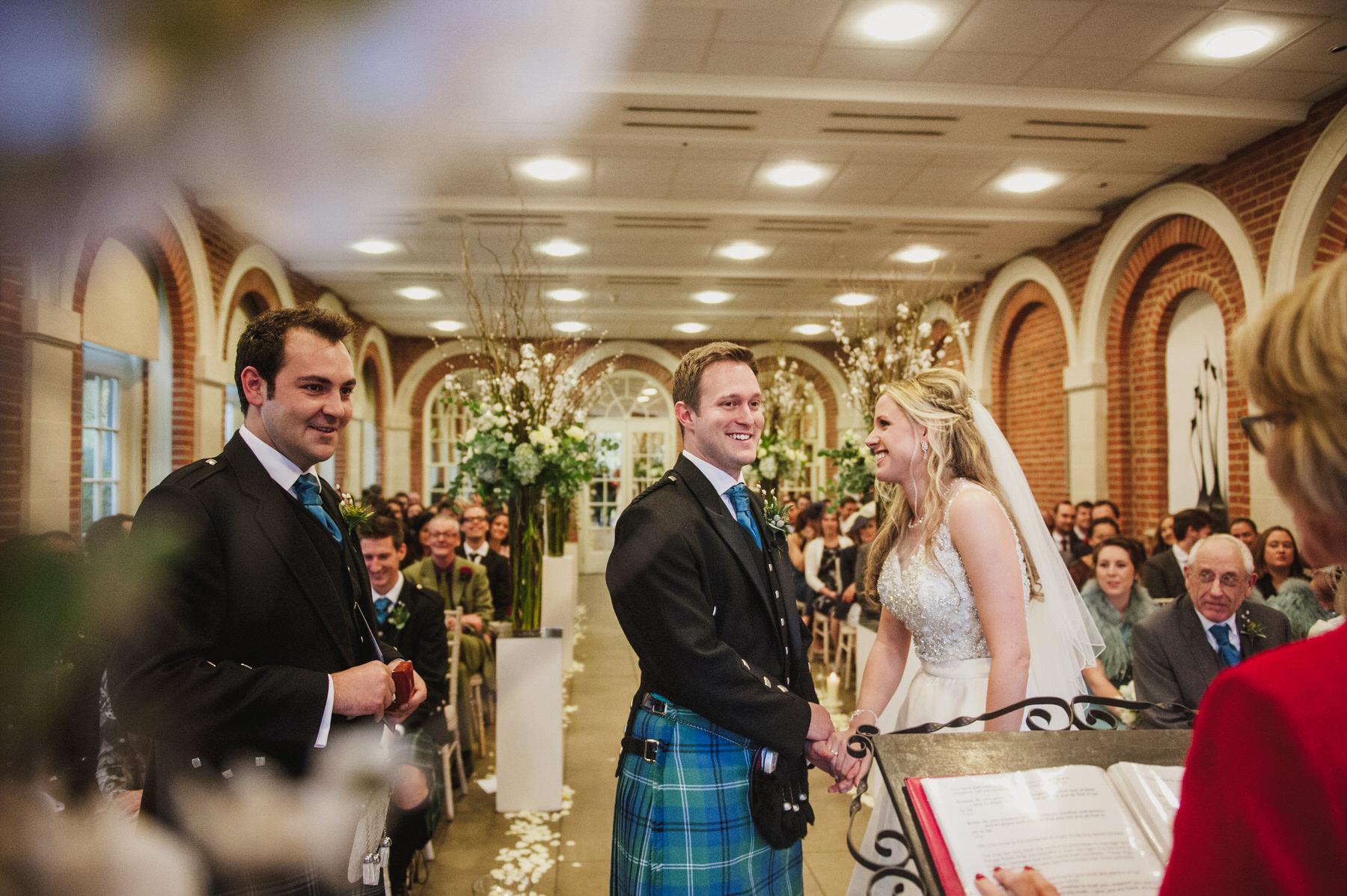 Great Fosters wedding registrar