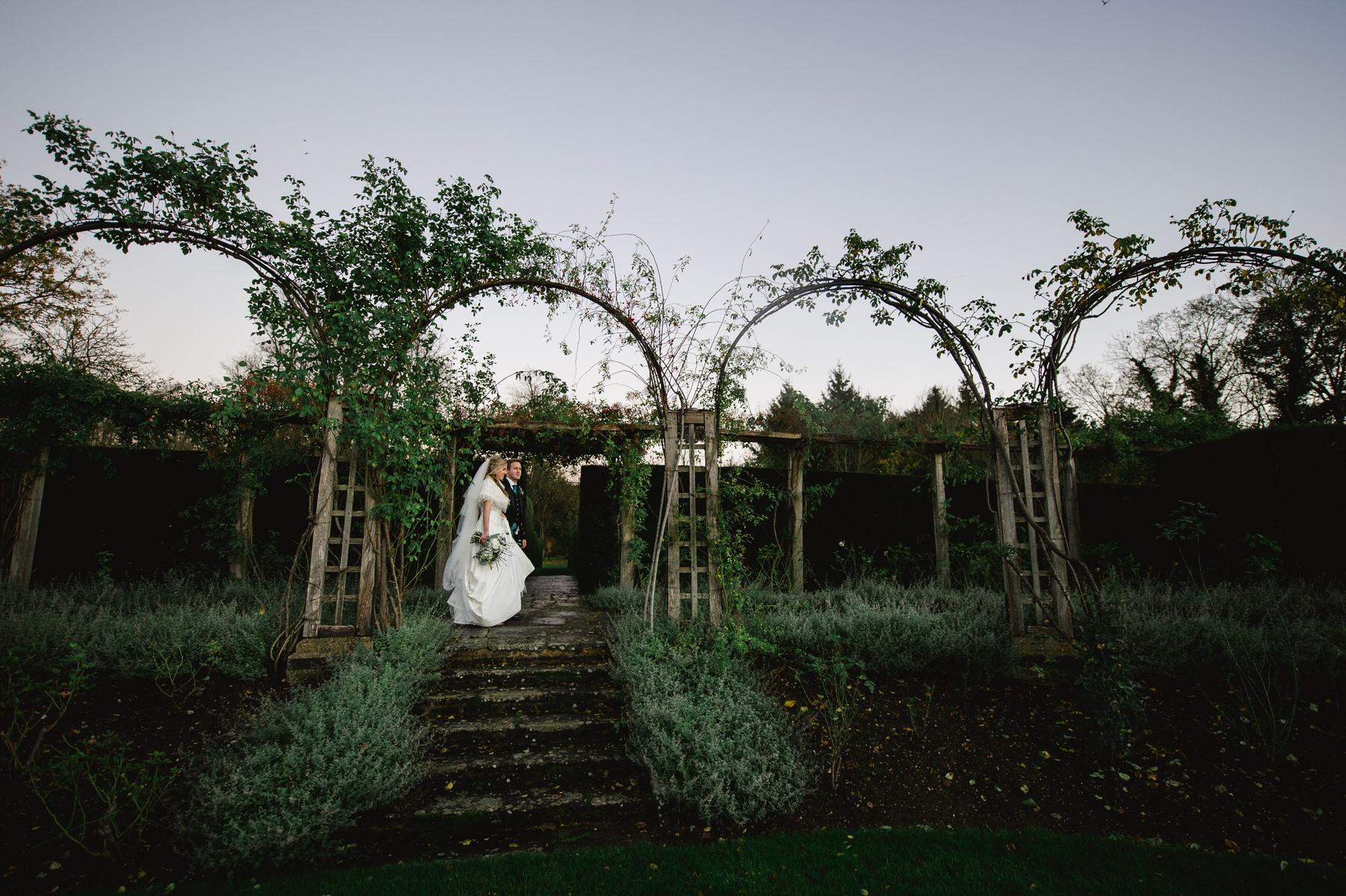 Great Fosters wedding gardens