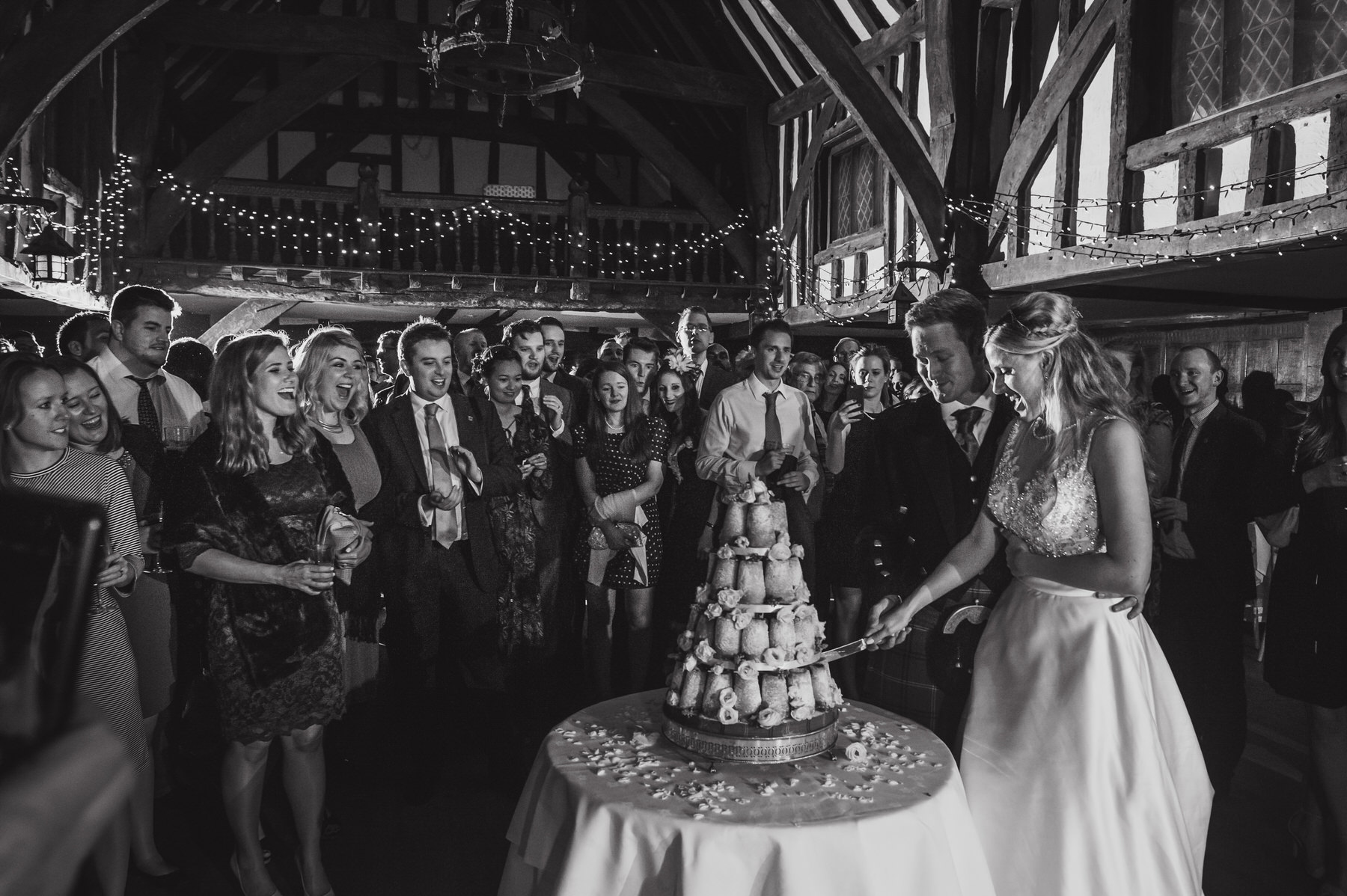Great Fosters wedding cake