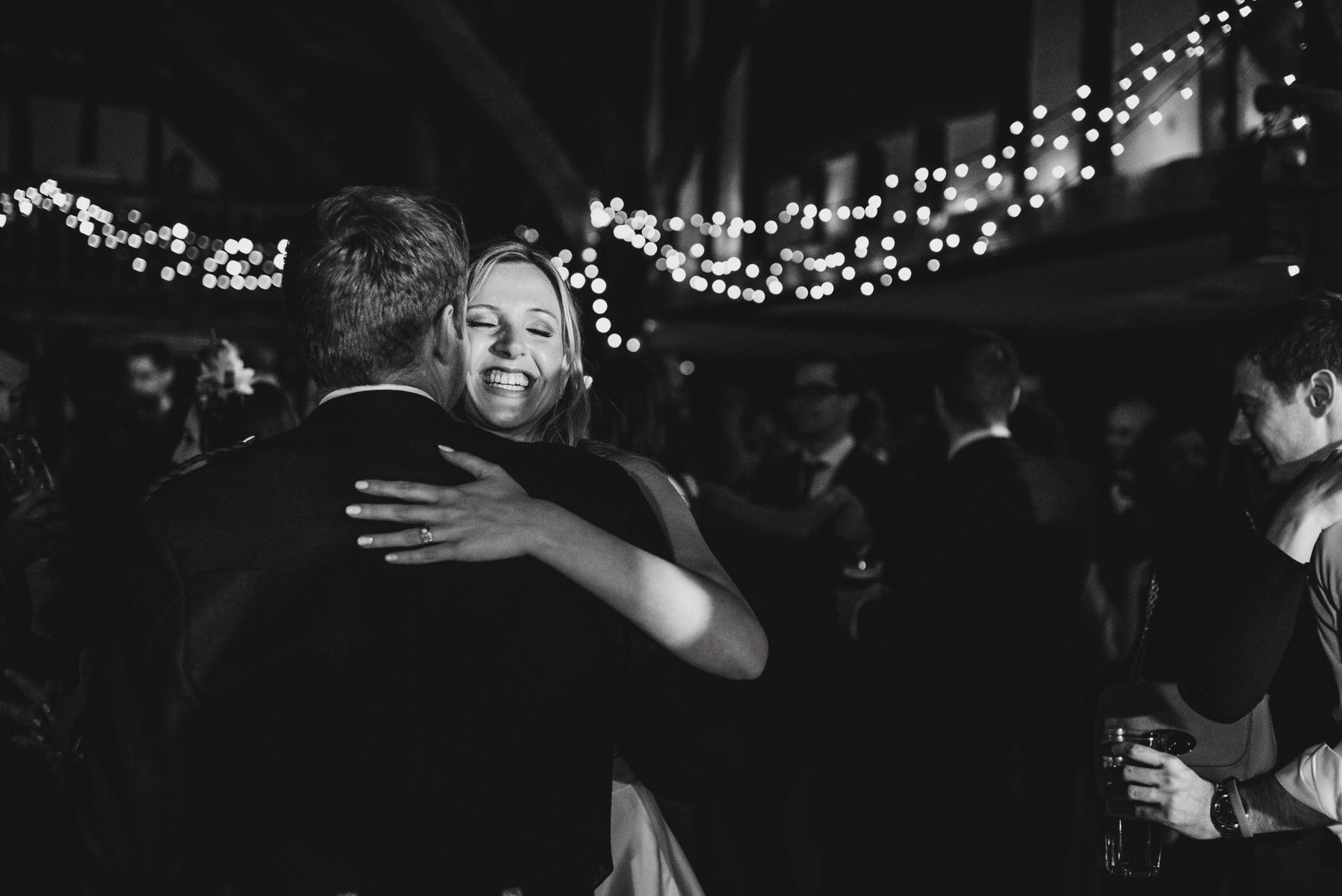 Great Fosters wedding dance