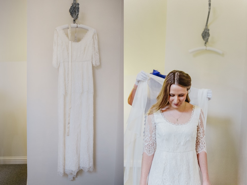 Millbridge Court Wedding bride