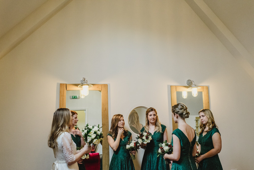 Millbridge Court Wedding bridesmaid
