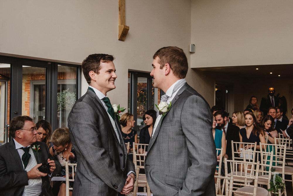 Millbridge Court Wedding groom
