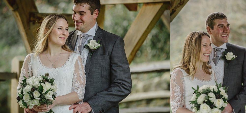 Millbridge Court Wedding bride and groom