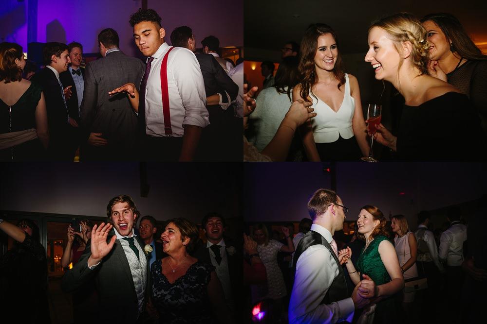 Millbridge Court Wedding dancing