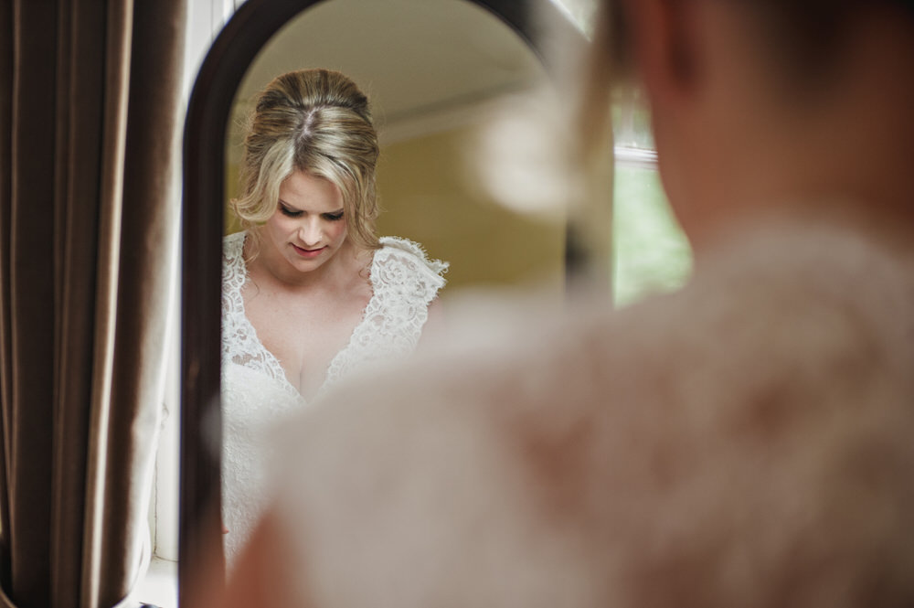 Herons Farm Barn wedding bride