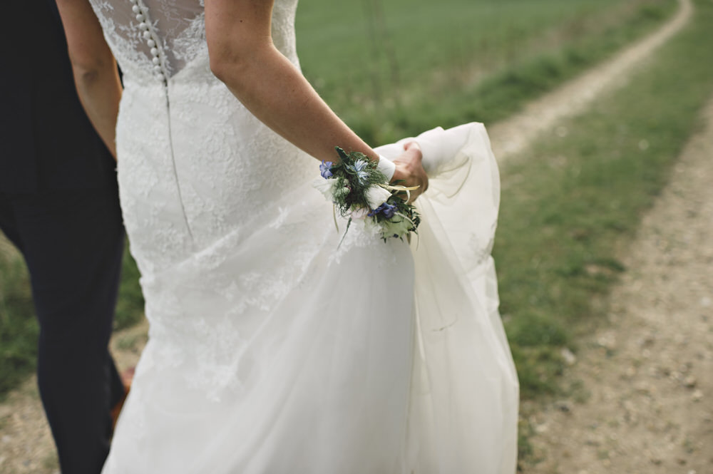 Herons Farm Barn wedding bride and groom portraits