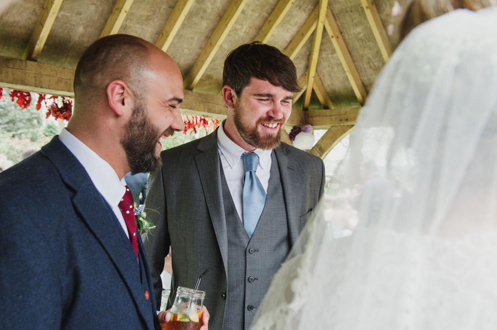 Herons Farm Barn wedding bride and groom