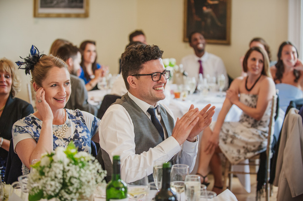 Pembroke Lodge wedding speeches