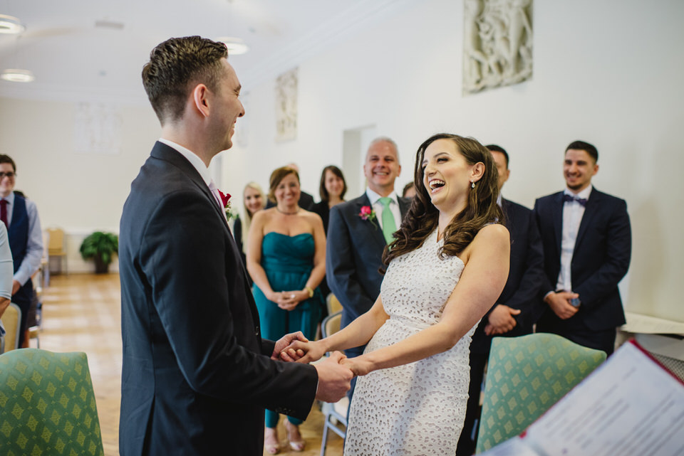 vows at registry York House