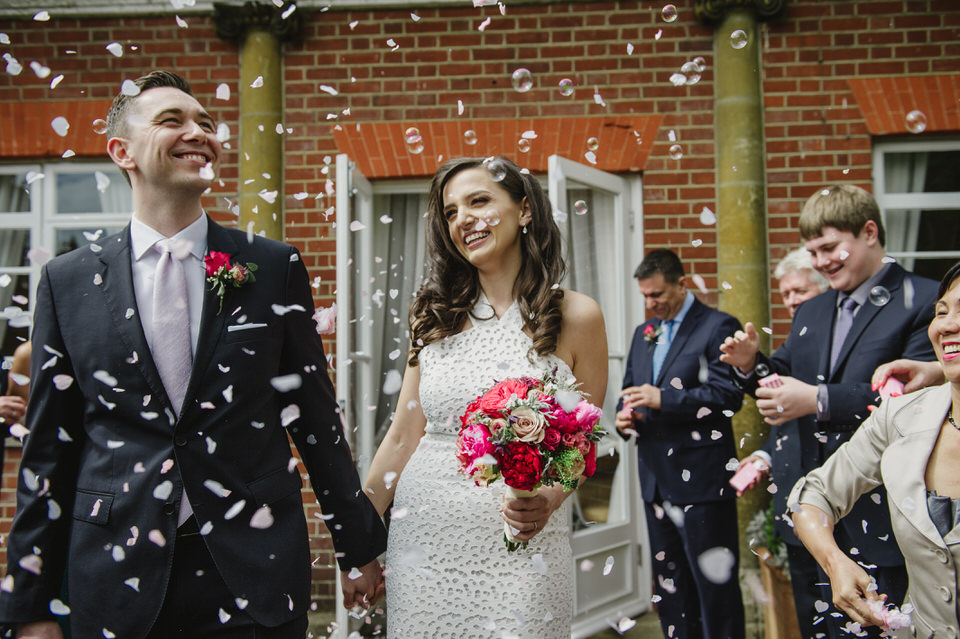 York House wedding confettis