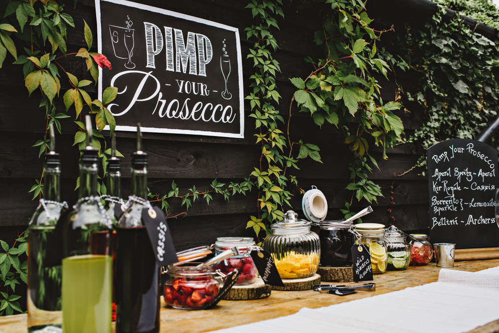 pimp your prosecco stand