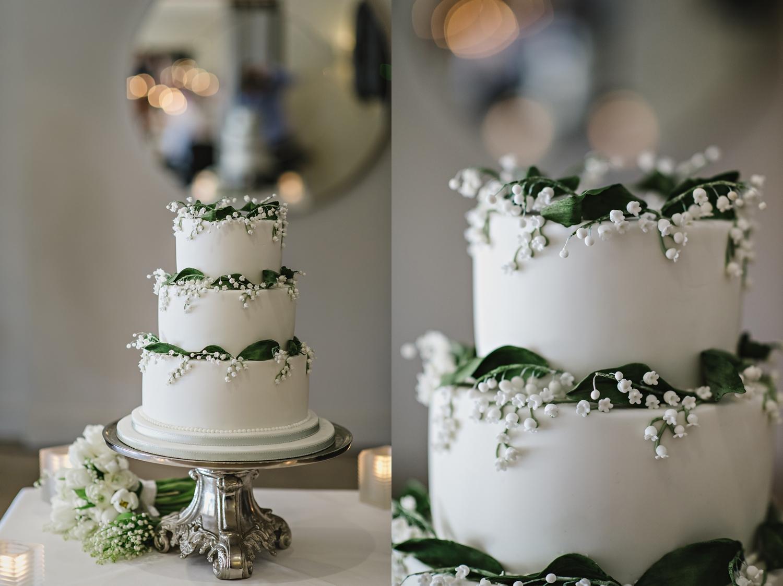 Bingham Hotel Wedding cake