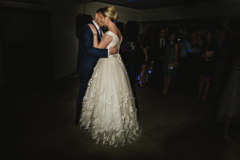 Bingham Hotel Wedding dancing